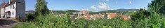 The Small Medieval City of Cesky Krumlov (Czech Republic)