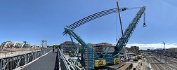 Latest panorama published: Pont-Bleu Construction Site in Crissier (Canton of Vaud, Switzerland)