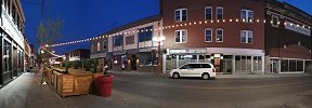 Latest panorama published: Notre-Dame Street in Lachine at Night (Québec, Canada)